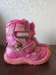Зимние  кожаные ботинки KEMAL PAFI, 16 см по стельке