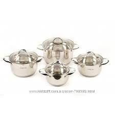 Наборы посуды Lessner  8пр. 55858. Отличное качество