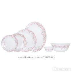 Сервиз столовый Arcopal Florinia PinkGrey 26 пр. N1081