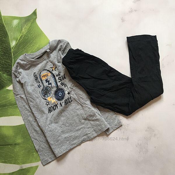 Пижама на мальчика, комплект реглан и штаны 110/116 Lupilu.