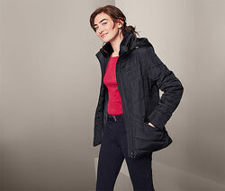 Теплая стеганая куртка с утеплителем, евро зима S 36 евро Тсм Tchibo.