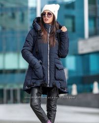Классная молодежная зимняя курточка