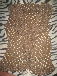 Красивая шифоновая блузка