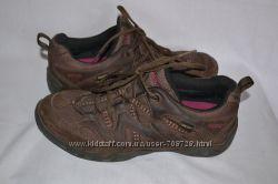 Кожаные кроссовки ECCO Размер 39-40.