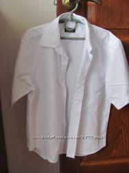 Белая парадная рубашка