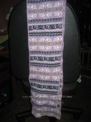 Замечательный теплый шарф