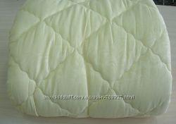 Теплые одеяла на овчинке , верх хлопок , все размер