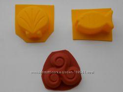 Формы для мыла, люкспо 80, пластик5грн и силикон8грн