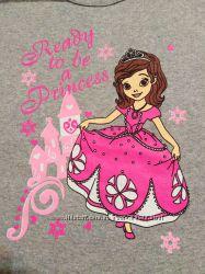 Пижама теплая кофта штаны начес  костюм ночной для сна София принцесса