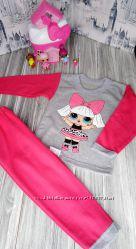 Пижама LOL Лол кофта штаны начес байка девочке костюм ночной