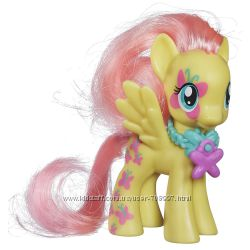 Май литтл пони Флаттершай Fluttershy 8 см. My little pony. Оригинал
