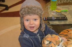Классная теплая шапка