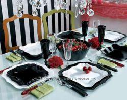 Сервиз столовый Luminarc AUTHENTIC Black&White 19 предметов