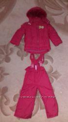 Комбинезон куртка штаны для девочки Mariquita 92р