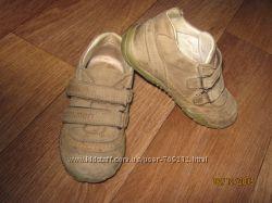 Фирменные кожаные мокасины 24 размер