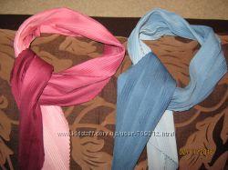 Лёгкие крепдешиновые мини -шарфики