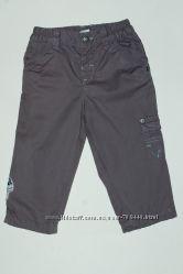Штаны на подкладке, штани Benetton на мальчика 9-12 м. 74 см