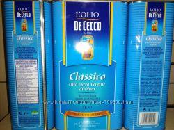 Оливковое масло Extra Vergine  De Cecco 3L Оригинал