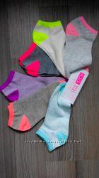 яркие низкие спортивные носки 29-31 childrens place