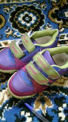 разноцветные кроссовки 18, 5 см