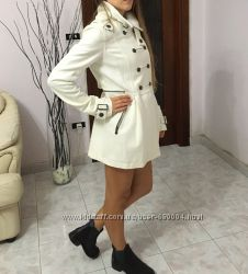 полушерстяное пальто  Bershka