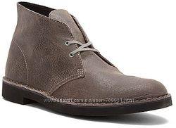 Темно-серые мужские ботинки Clarks - Bushacre 2 - Style 63580