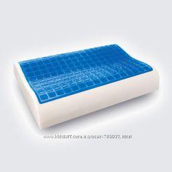 Ортопедическая подушка с охлаждающим гелем.