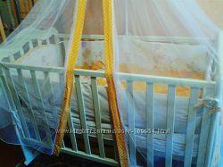 Манеж детский Веселка постельное матрас