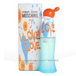Туалетная вода Moschino I Love Love Оригинал