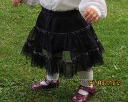 Гарна та нарядна спідничка ESPIRIT для дівчинки 1-1, 5 р. Італія