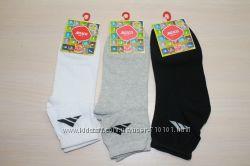 носки мужские хлопковые спортивные  чёрные, серые, белые все размеры