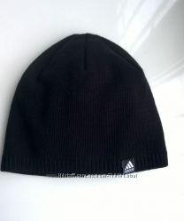 шапка мужская на флисе серая чёрная синяя