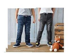 Трикотажные джинсы-джоггеры LUPILU Р. 98,104,110. Германия.