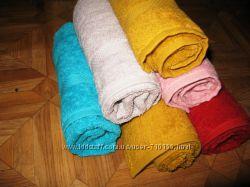 Махровые полотенца разные цвета и размеры Отменное качество