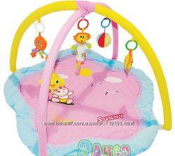 Развивающий детский коврик с погремушками Сary bear Sunny