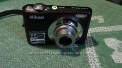 Фотоаппарт Nikon Coolpix L21 с чехлом