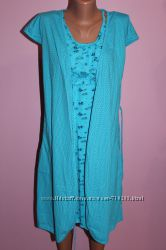 Халат  ночная рубашка для кормящей мамы