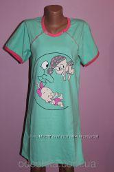 Ночная рубашка для кормления  Малыш