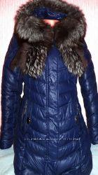 зимняя куртка пуховик пальто на холлофайбере модель 2016 года