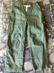Стильные штанишки Carters на 2-3 года сост новых