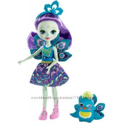 Кукла Enchantimals Павлина Петтер и ее друг Флэп