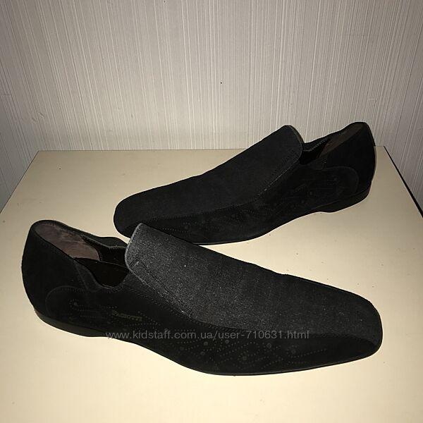 Дизайнерские лоферы туфли Cesare Paciotti Италия размер 8 29.5-30см