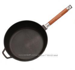 Сковорода чугунная со съёмной ручкой 240мм , , Классик, ,