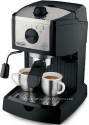 кофеварка  Delonghi ec155 с капучинизатором