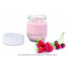 Йогуртница Moulinex. состояние новой. 7 стеклянных баночек