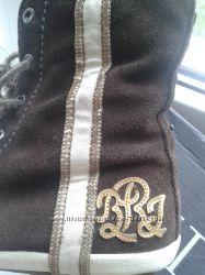 Ботинки брендовые REPLАY, натуральная замша