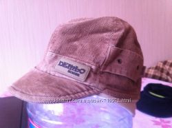 Шапка-кепка осенняя для мальчика р. 54-56