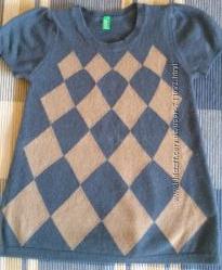Шерстяное платье Benetton 1-2 года