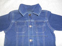 Распашонка рубашка нарядная Faded Glory на 3-6 мес