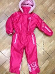 Зимний термо- комбинезон Barbie Барби 3-4 года.